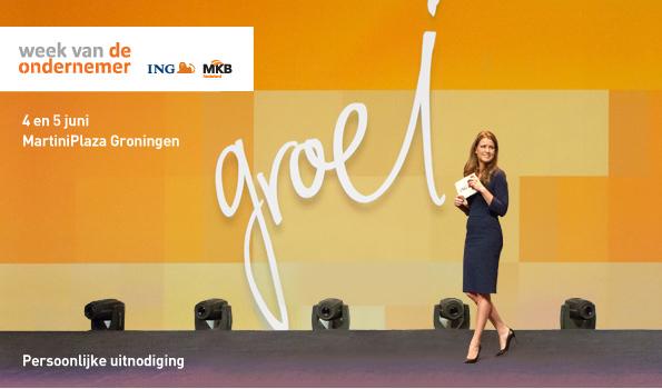 Week van de Ondernemer in het MartiniPlaza, Groningen